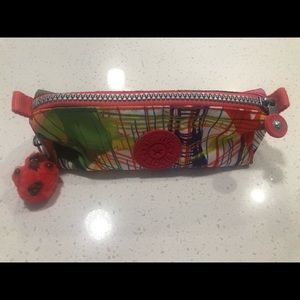 Authentic Kipling Multicolor Pouch